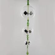Lupi Solar-Powered Radiometer to hang Drop It Green 100 x 80 x 60 mm