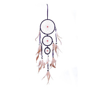 Ethnic Flavour Dream Catcher Feather Car Wall Hanging Decor Craft