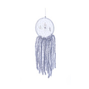 Christmas Tassels Feather Dream Catcher Wall Hanging Home Car Decor Craft