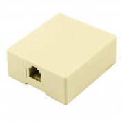 Unique Bargains4Pin RJ11 6P4C Socket Surface Mount Telephone Cable Jack