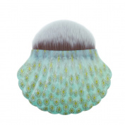 Foundation Powder Makeup Brushes Shell Contour Powder Blush Brush Tools