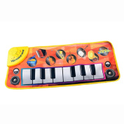 VNEIRW Musical Mat Piano Keyboard,Musical Mat Carpet,Early Education Musical Puzzle Baby Kids Toys