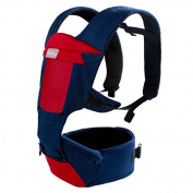 L & R Suitable for Newborns Cosy Soft Safety Breathable Waist stool Combo Baby Multifunction carriers