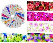Milopon Nail Stickers Nail Art Stickers Decal Tips Nail Decorating Diy 50Sheets