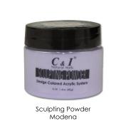 C & I Sculpting Powder Colour No.6 Modena Design Coloured Acrylic Powder System