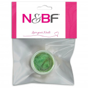 N & BF for Nail Art UV Gel Nails Decoration Feathers Green Beauty Jewellery Accessories Feather Feather Craft New In Box