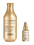 L'Oreal Serie Expert Absolut Repair Lipidium Shampoo 300ml and Serum 50ml