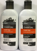 Optima Activated Charcoal Purifying Shampoo 265ml & Conditioner 265ml