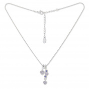 Till Rock with Crystals Ladies Necklace Heart Pendant Necklace Jewellery With Kistallen