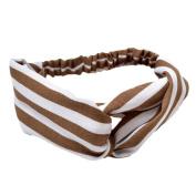 Milopon Headbands Elastic Head Wrap Hairband Sport Yoga for Woman Girls