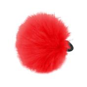 Plush Ball Ponytail Holder Headband Hair Rope Scrunchie Minzhi