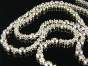Rosary 1 Row 3.0ct Diamond Necklace in Silver