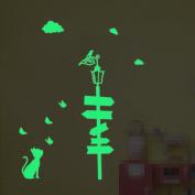 Luminous Wall Stickers Glow Stickers Creative Children Room Bedroom Home Decor