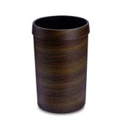 L & LQWood grain round trash can home bedroom KTV plastic tube colour with floor