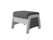 Ultramotion by Dutailier California Ottoman, Grey