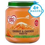Cow & Gate Stage 1 Carrot And Chicken Risotto 125G Jar