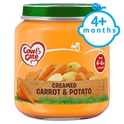 Cow & Gate Creamed Carrot And Potato 4 Month+ 125G Jar