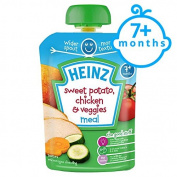 Heinz Savoury Pouch Sweet Potato Chicken And Vegetable 130G