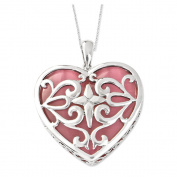 Heart Acceptance Sterling Silver Necklace