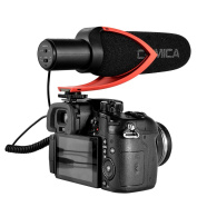 Video Microphone with Wind Shield for DSLR Camera Canon Nikon Sony DV Cameras