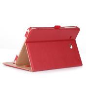 ProCase Samsung Galaxy Tab E 9.6 Case – Vintage Stand Folio Case Cover for Galaxy Tab E 24cm / Tab E Nook 24cm Tablet (SM-T560 / T561 / T565 and SM-T567V Verizon 4G LTE Version) -Red