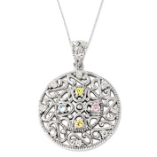 Bliss Sterling Silver Necklace with Cubic Zirconia