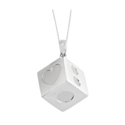 Lucky As Can Be Sterling Silver Necklace
