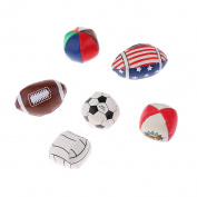 Sharplace Infant Kids Development Toys 6-Colour Ball Educational Gift