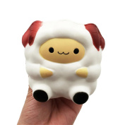 Stress Relief Toys for Kids Adults Slow Rising Squishies Jumbo Mingfa Cute Soft Cartoon Sheep Squeeze Animal Toy Cure Gift