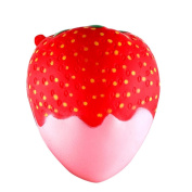 11.5cm Chocolate Strawberry Squeeze Toy,Luoluoluo Scented Squishy Slow Rising Squeeze Toys Jumbo Collection Fun Scented Developmental Baby Toys