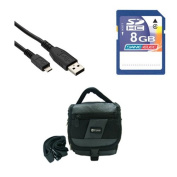 Panasonic HC-V750 Camcorder Accessory Kit includes