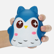 Faladiuo 1PC Doll Owl Scented Stress Relief Toys Gift Jumbo Slow Rising Squishies