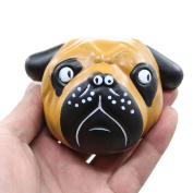 Soft Toy, MML Exquisite Fun Crazy Dog Scented Squishy Charm Slow Rising 8cm Simulation Kid Toy