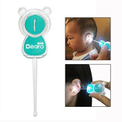 Itian Luminous Ear Pick LED Cute Cartoon Animal Earpick Kids Baby Safe Earwax Removal With LED Flash Lighting For Baby Care