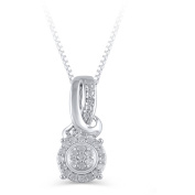 Hold My Hand 1/10 Carat T.W. Diamond Fashion Pendant in Sterling Silver