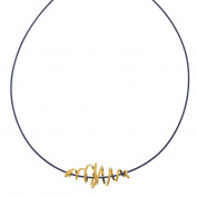 22K Vermeil & Silver Necklace