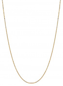 """10K 18"""" Yellow Gold 1.1mm Diamond Cut Cable Chain with Lobster Clasp"""