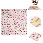 IGNPION Splash Mat Highchair Baby Splat Floor Mat No Mess Anti Slip Feeding Protector (110cm x 110cm)