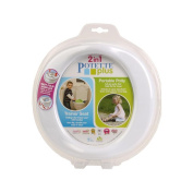 Childrens Toddlers Travel 2in1 Fold Up Portable Potty