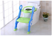 Children's Toilet Ladder Training Potty Toilet Trainer Seat and Step Stool