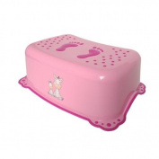 Maltex Baby Zebra Toilet Training Step Stool, Pink