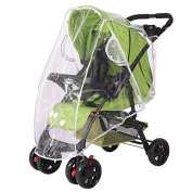 Wildeal Universal Rain Cover for Pushchair Pram Baby Stroller Wind Weather Shield