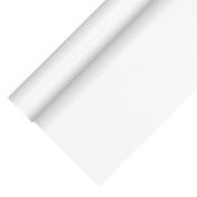 Papstar Tablecloth, Fleece fabric, Weiss, 10 x 10 x 90 cm