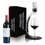 Luxury Red Wine Aerator Set with Aerator Pourer, Aerator Stand with Glass Holder & Aerator Accessories, Luxury Gift Box by Toogou