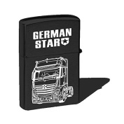 Storm Lighter with Motif - Trucker Lorry - German Star - 01165