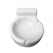 Rentzu Bath Pottery And Ashtray Ceramics,White