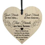 Saihui Wooden Hanging Gift Plaque Pendant Family Friendship Love Sign Wine Tags Decor