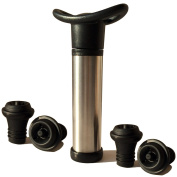 Comlon Wine Stoppers, Pump Preserver with 4 Vacuum Bottle