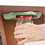 Jar Opener For Arthritis, Hunpta Jar Opener Under Kitchen Cabinet Counter Top Lid Remover Arthritis Pack