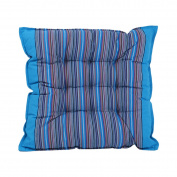 iEFiEL Indoor Outdoor Home Office Sofa Chair Square Stripe Soft Thicken Seat Cushion Pillow Pad Light Blue One Size